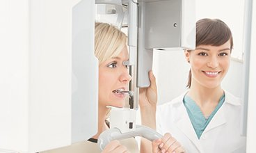 Cone Beam CT Scan Technology